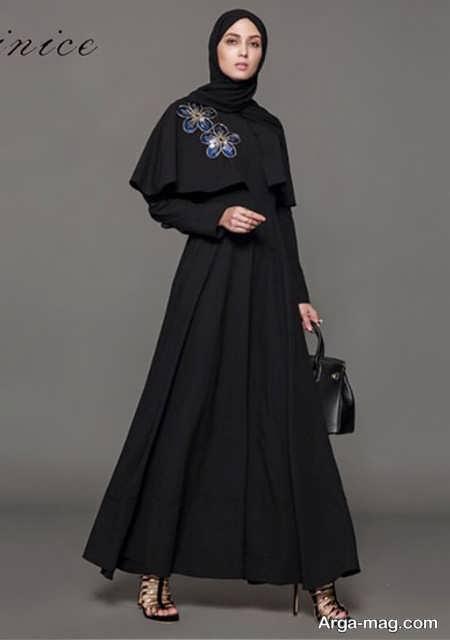 مدل زیبای مانتوی عربی