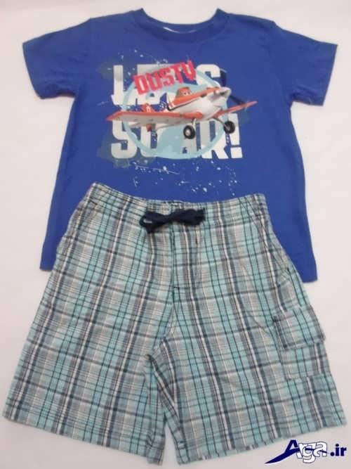 انواع لباس بچه گانه با پارچه نخی مدل های لباس بچه پسرانه جدید و بسیار زیبا و جذاب