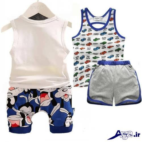لباس بچه با طرح های شیک و زیبا