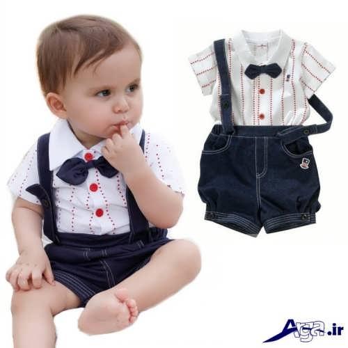 انواع مدل های لباس بچه پسرانه