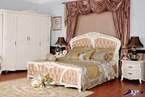 دیزاین زیبای اتاق خواب عروس