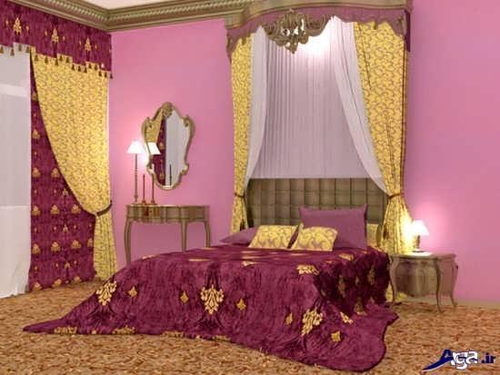 دیزاین ساده اتاق خواب عروس