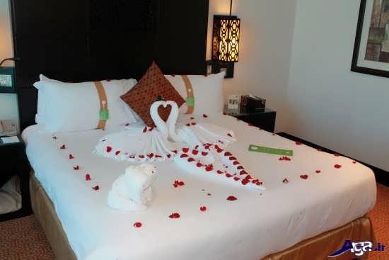 دیزاین زیبا و شیک اتاق خواب عروس