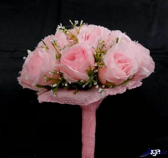 دسته گل نامزدی صورتی