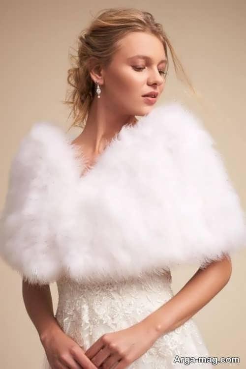 مدلی از شنل عروس