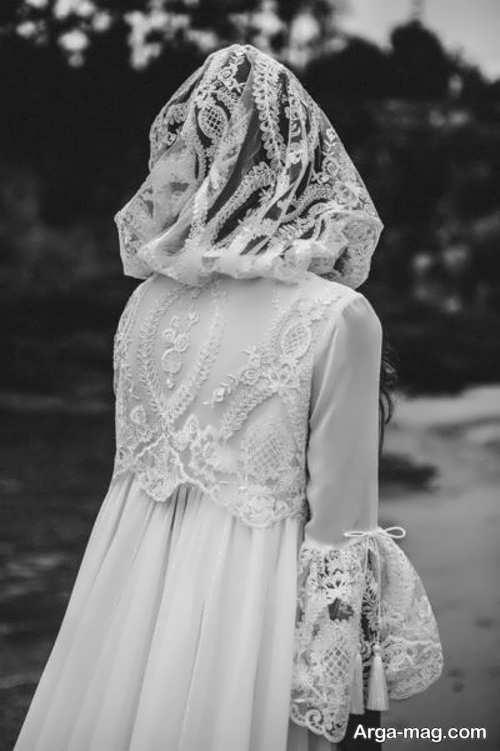 انواع شنل عروس
