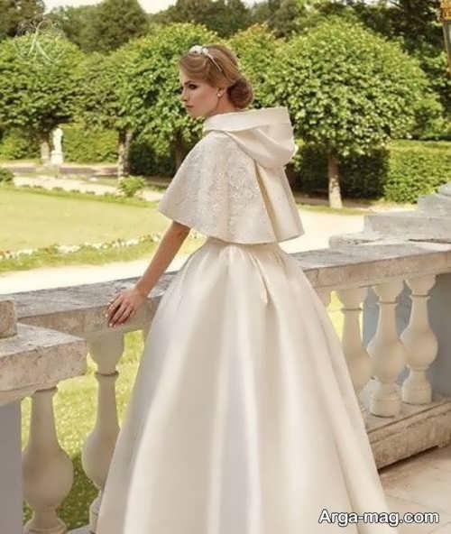 مدلی از شنل عروس کوتاه