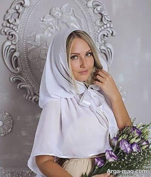 مدل شنل عروس ساده