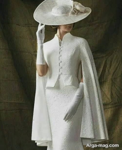 مدلی شیک از شنل عروس