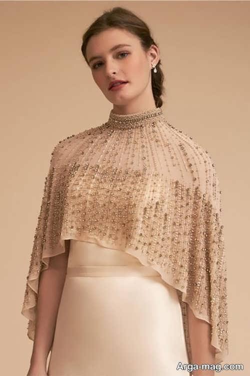 مدلی جدید از شنل عروس
