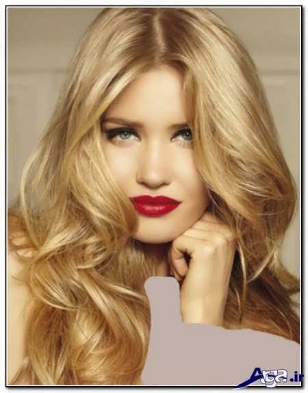 رنگ موهای زیبا و پرطرفدار روشن