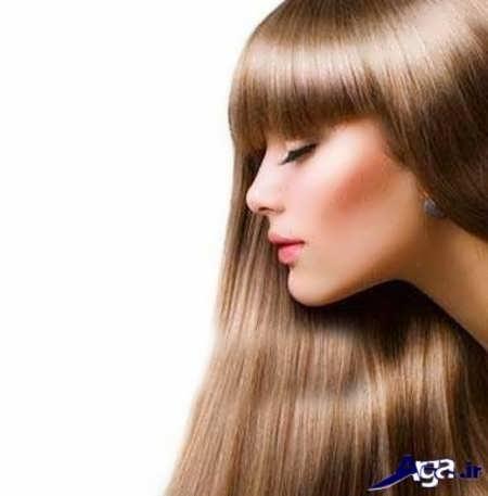 رنگ موی روشن زیبا