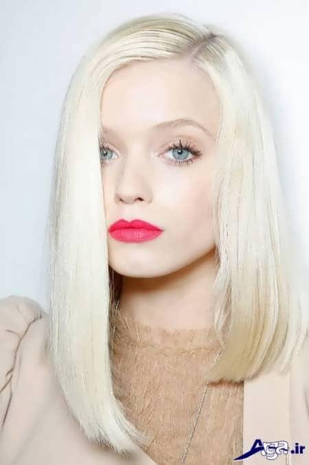 رنگ موی زنانه روشن