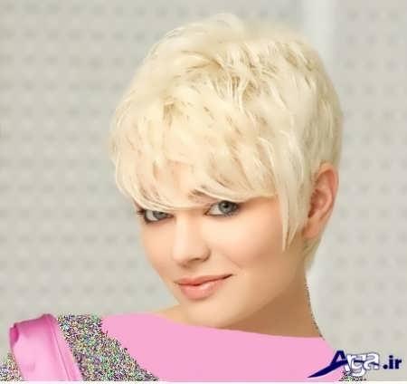 رنگ موی پلاتینه روشن