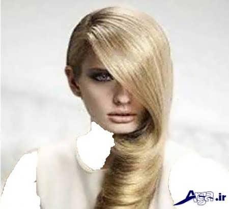 رنگ موهای روشن زیبا