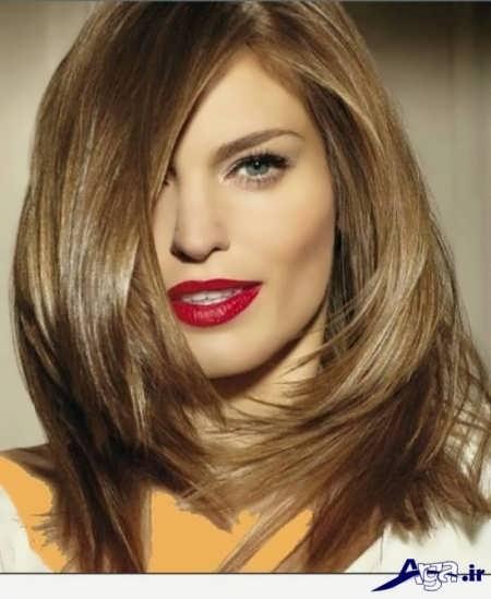 رنگ موی روشن زیتونی