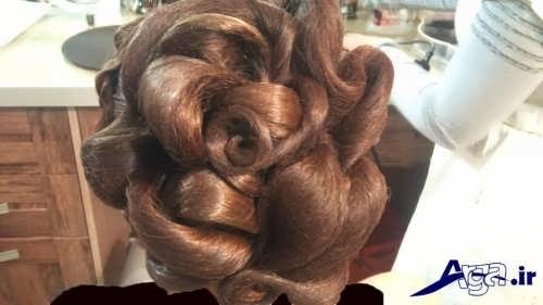 مدل های زیبا و جدید آرایش مو با تور