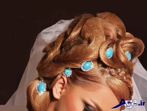 مدل آرایش موی عروس زیبا و جدید