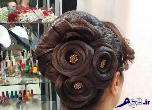 مدل موی بسته عروس