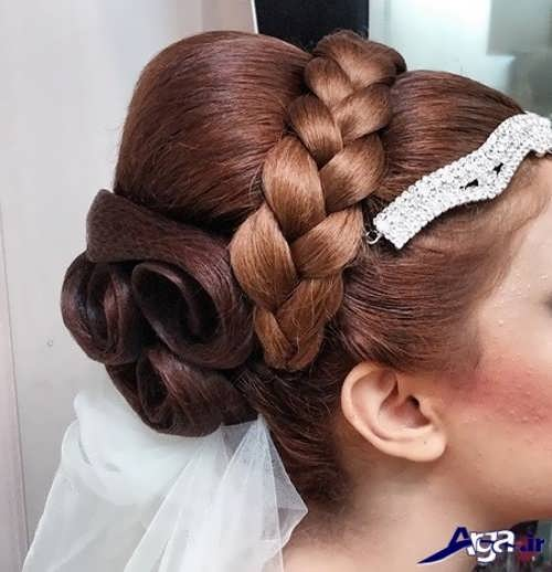 مدل موی زیبا عروس