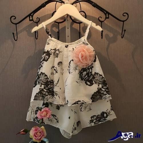 طرح های متنوع مدل لباس بچه گانه دخترانه