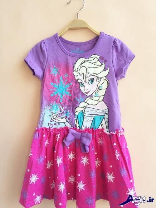 طرح های زیبا و متفاوت لباس بچه گانه