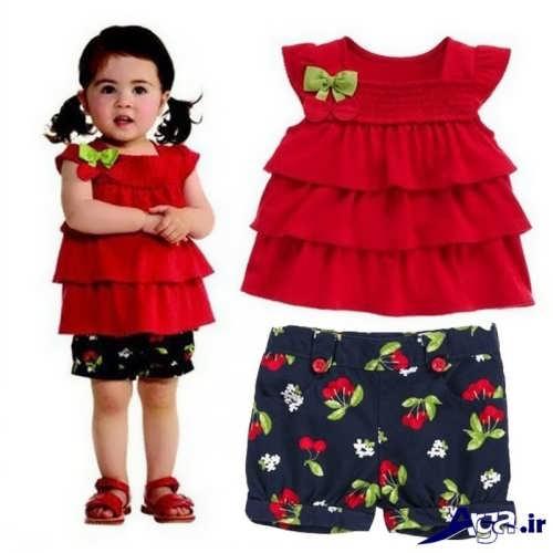 مدل لباس با نمک برای دختر بچه ها