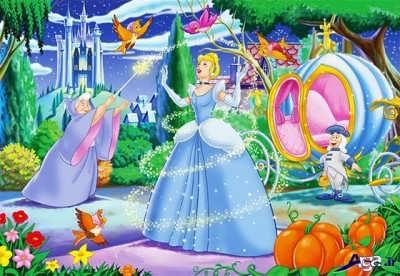 داستان سیندرلا و شاهزاده