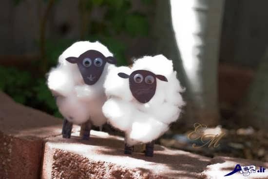 کاردستی گوسفند قربانی برای عید قربان