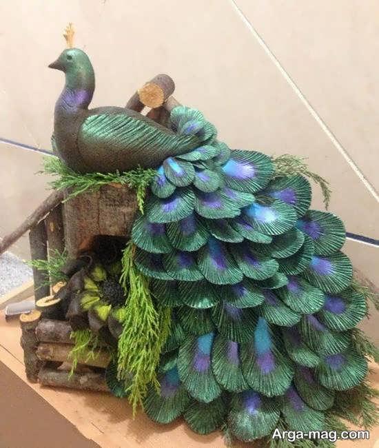 دیزاین حنا عروسی به شکل پرنده