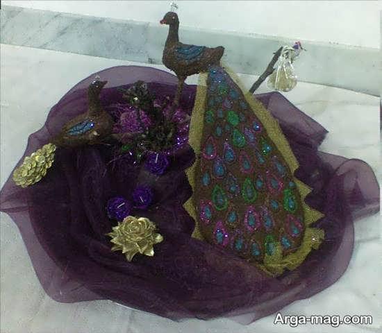 تزیینات قشنگ حنا عروس برای حنابندان