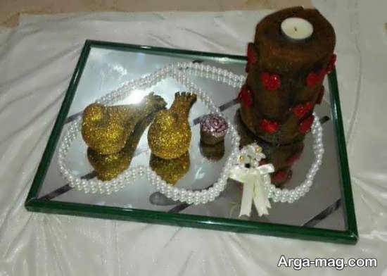 تزیینات لاکچری حنا عروس برای حنابندان