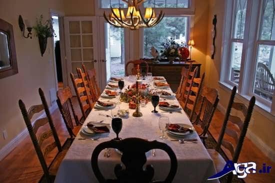 تزیین کردن میز شام با کمک ایده های خلاقانه