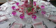 تزیین میز شام جدید و زیبا برای مهمانی های مختلف