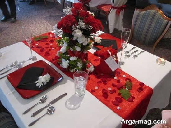 تصاویری از دیزاین میز شام