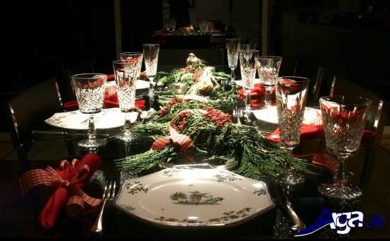 روش هایی برای تزیین کردن میز شام