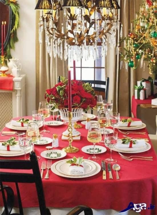 تزیین کردن میز شام با ایده های خلاقانه و زیبا