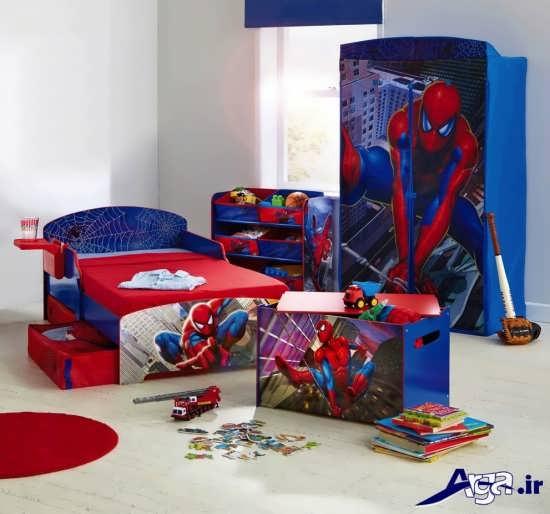 دیزاین اتاق کودک با تم کارتونی
