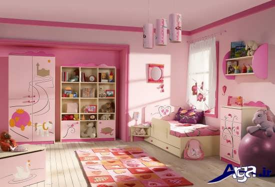 طراحی دکوراسیون برای اتاق کودکان