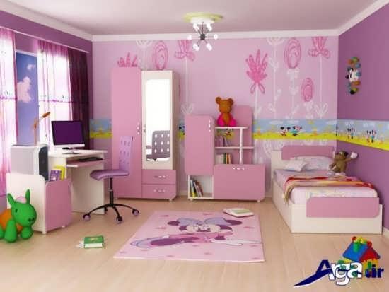 طراحی دکوراسیون داخلی برای اتاق کودکان