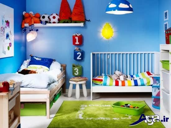 انواع نمونه های طراحی داخلی برای اتاق کودک