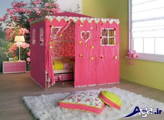 دکوراسیون زیبا و متفاوت اتاق کودک