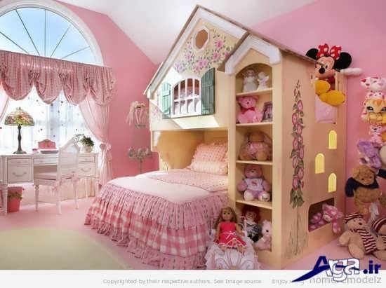 زیباترین نمونه های طراحی برای اتاق کودک