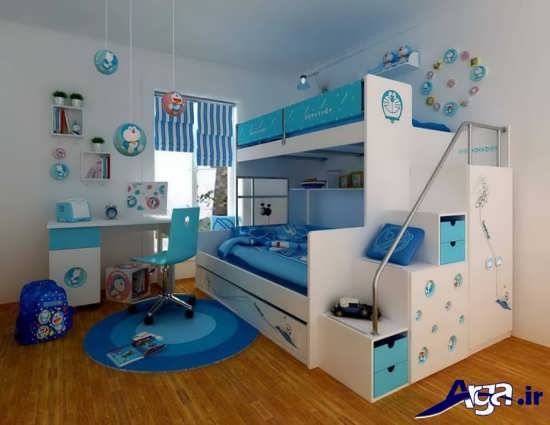 زیباترین نمونه های طراحی دکوراسیون داخلی اتاق کودک