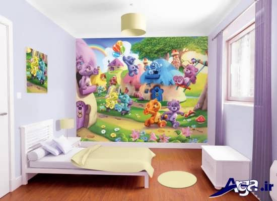 زیباترین نمونه های دکوراسیون داخلی برای اتاق کودک