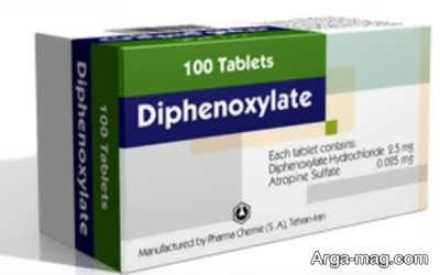اطلاعات دارویی دیفنوکسیلات