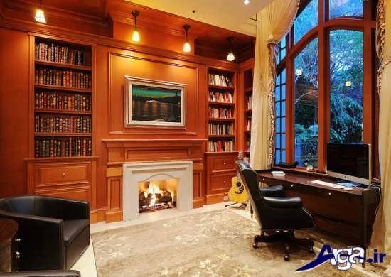 طراحی اتاق کار زیبا