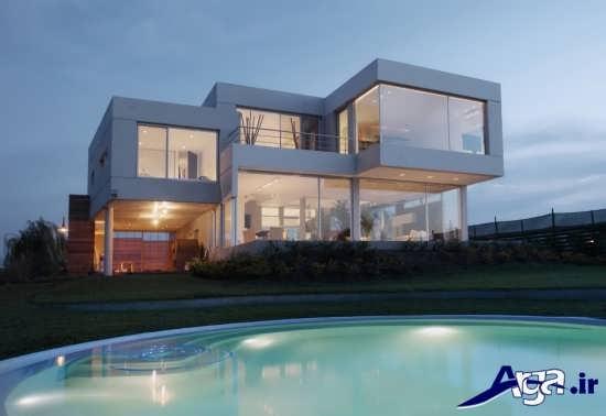 تصاویر نمای داخلی و خارجی ساختمان های لوکس و رویایی