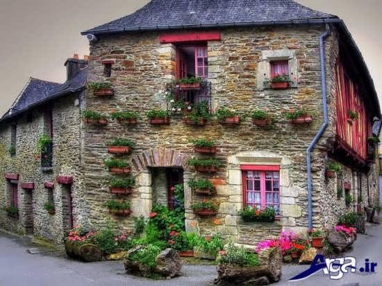 نمای بیرونی ساختمان های زیبا