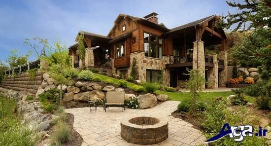 طراحی فضای سبز برای ساختمان لوکس